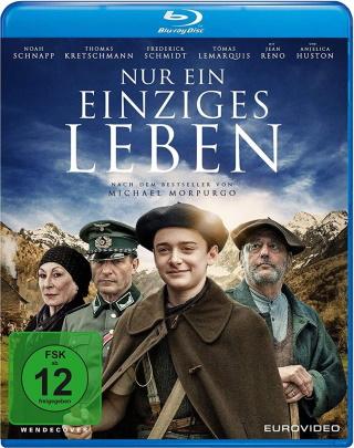 """Das Blu-ray-Cover von """"Nur ein einziges Leben"""" (© 2021 EuroVideo)"""