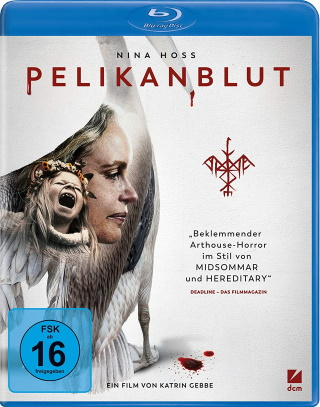 "Das Blu-ray-Cover von ""Pelikanblut"" (© DCM)"