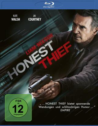 "Das Blu-ray-Cover von ""Honest Thief"" (© Concorde Filmverleih GmbH)"
