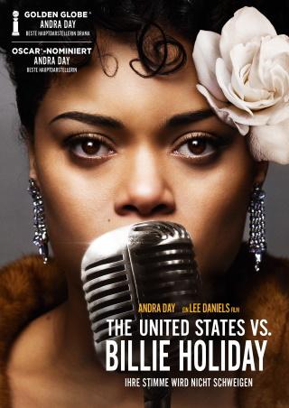 """Das Hauptplakat von """"The United States vs. Billie Holiday"""" (© Wild Bunch/Capelight)"""