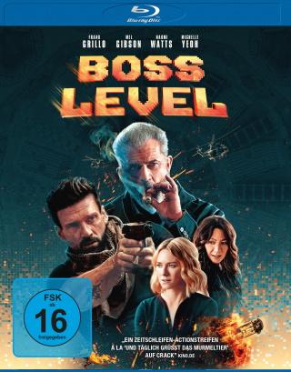 "Das Blu-ray-Cover von ""Boss Level"" (© Leonine Distribution)"