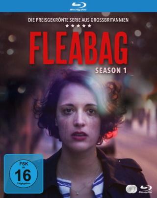 """Das Blu-ray-Cover von """"Fleabag Staffel 1"""" (© 2021 Justbridge TV)"""