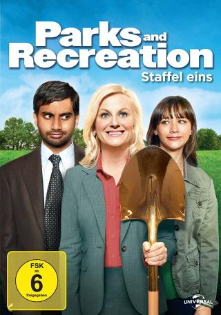 """Das DVD-Cover der ersten Staffel """"Parks and Recreation"""" (© Universal Pictures)"""
