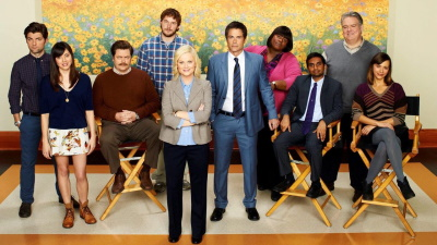 """Die Hauptbesetzung von """"Parks and Recreation"""" (© NBC)"""