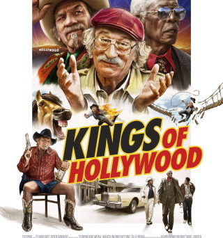 "Das Plakat von ""Kings of Hollywood"" (© Telepool)"