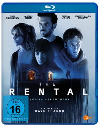 "Das Blu-ray-Cover von ""The Rental - Tod im Strandhaus"" (© Pandastorm Pictures)"