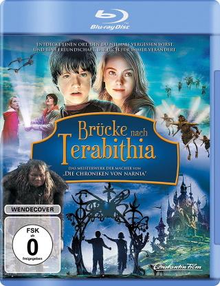 """Das Blu-ray-Cover von """"Brücke nach Terabithia"""" (© Constantin Film)"""
