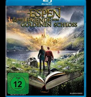 """Das Blu-ray-Cover von """"Espen und die Legende vom goldenen Schloss"""" (© EuroVideo)"""
