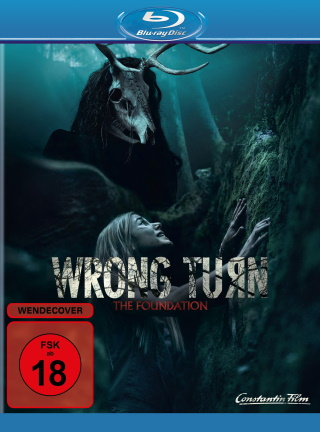 """Das Blu-ray-Cover von """"Wrong Turn - The Foundation"""" (© Constantin Film)"""