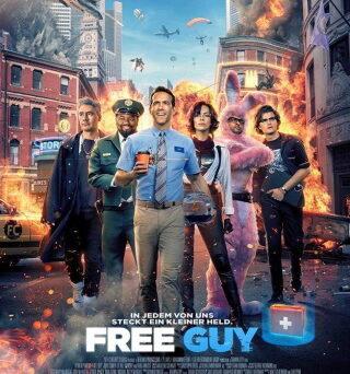 "Das Hauptplakat von ""Free Guy"" (© Walt Disney Studios)"