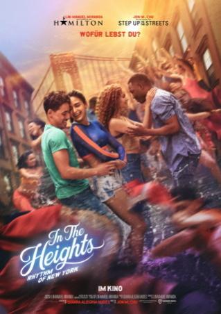 """Das Hauptplakat von """"In the Heights"""" (© 2021 Warner Bros Pictures)"""