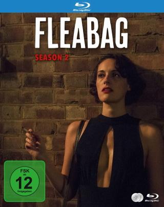 """Das Blu-ray-Cover von """"Fleabag Staffel 2"""" (© 2021 Justbridge TV)"""