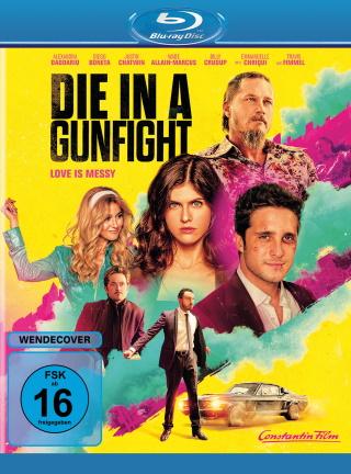 """Das Blu-ray-Cover von """"Die in a Gunfight"""" (© Constantin Film)"""