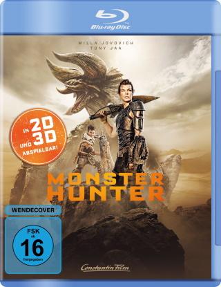 "Das Blu-ray-Cover von ""Monster Hunter"" (© Constantin Film)"