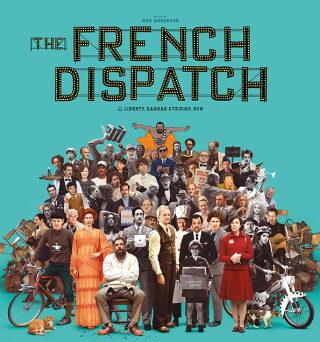"""Das Plakat von """"The French Dispatch"""" (© Walt Disney Studios)"""